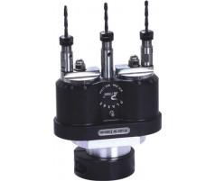 Сверлильная головка для сверления в металле на три шпинделя с регулировкой расстояния между шпинделями от 20 до 112 мм