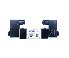 Клапан электромагнитный 4V220-08-B 2309 640200043 для сверлильно-присадочных станков с ЧПУ KDT/WDMAX