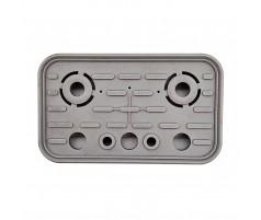 Резиновая накладка вакуумных блоков SCHMALZ 125х75 мм