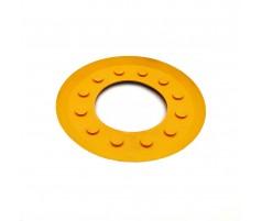 Круглая резиновая накладка вакуумных блоков 120х87 мм