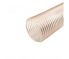 Рукав для аспирации полиуретановый D-100 мм, стенка 0,9 мм 3 метра