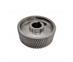 Ролик подающий металлический для четырехстороннего станка 140x30x50 мм