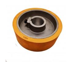 Ролик подающий для четырехстороннего станка 140x35x50 мм покрытие резина