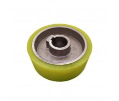 Ролик подающий для четырехстороннего станка 120x30x50 мм покрытие полиуретан