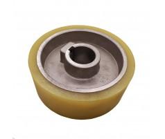 Ролик подающий для четырехстороннего станка 140x35x50 мм покрытие полиуретан