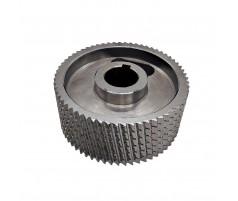 Ролик подающий металлический для четырехстороннего станка 140x35x50 мм