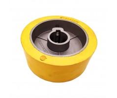 Ролик подающий для четырехстороннего станка 120x30x50 мм обрезиненный