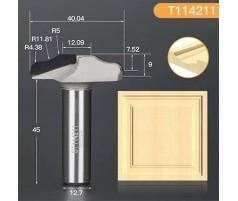 Профильная алмазная концевая фреза D40.04 h9 d12.7(12)
