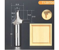 Профильная алмазная концевая фреза D21.5 h21.5 d12.7(12)