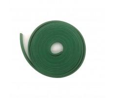 Резина прижимной балки зеленая эконом 6х20 на клеевой основе
