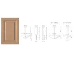 Комплект алмазных фрез для фасада 1208