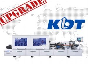 Новая 6-я серия кромкооблицовочных станков KDT Machinery
