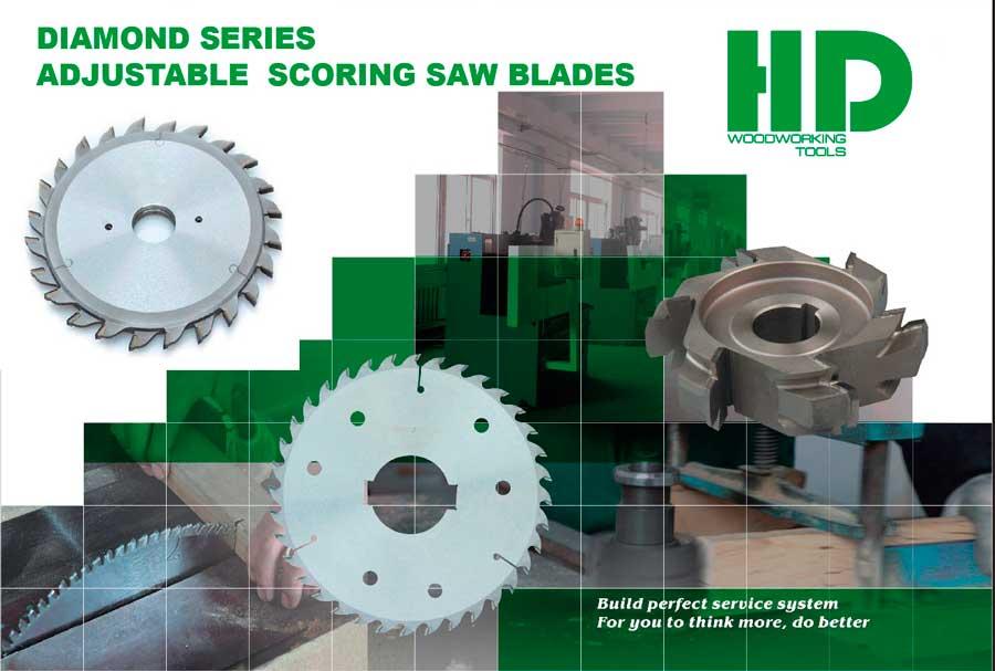 алмазные подрезные пилы HD Woodworking Tools