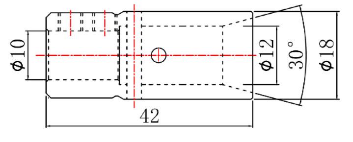 Цанга быстросменная для сверлильно-присадочного станка Vitap