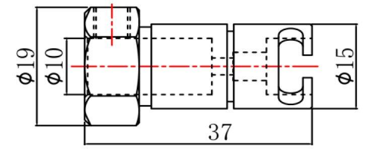 Цанга быстросменная для сверлильно-присадочного станка