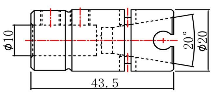 Цанга быстросменная для сверлильно-присадочного станка SCM