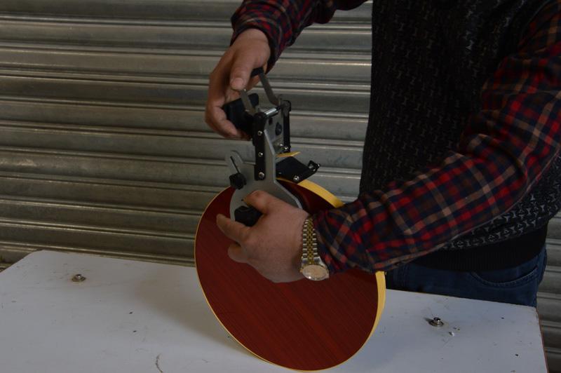 Ручной подрезатель кромки для круглых заготовок