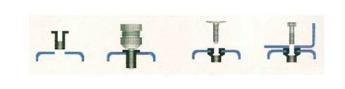 Пневмогидравлический заклёпочник для резьбовых заклёпок (полуавтоматический) М4, М5, М6, М8, М10
