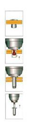 Заклёпочник пневмогидравлический  для вытяжных заклёпок