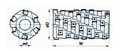 схема спиральной головы