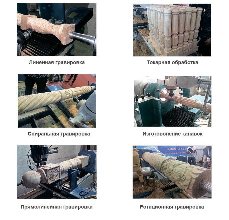 варианты гравировки и токарной обработки LM-315W