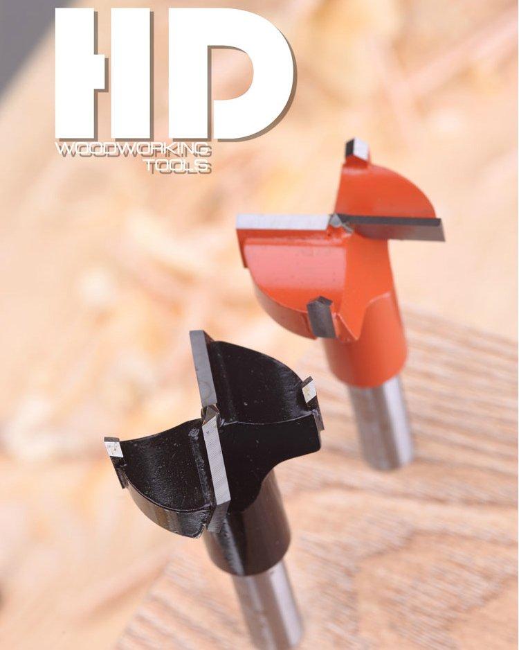 твердосплавные фрезы под мебельные петли HD Woodworking tools для сверлильно-присадочных станков