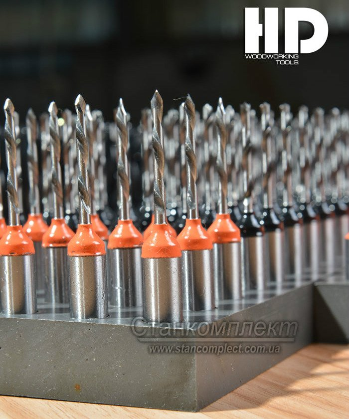 монолитные твердосплавные сверла hd woodworking tool